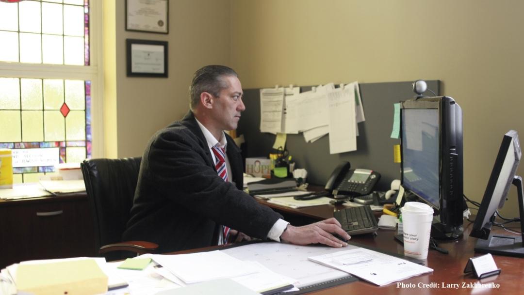 Luke Nasta, Executive Director of Camelot Counseling Center