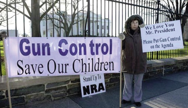 The push for gun control legislation, despite White House pressure, died down in 2013 after the President's proposal was shut down in the House. Source: theguardian.com