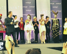 Contestants in the Battle of the Brushes