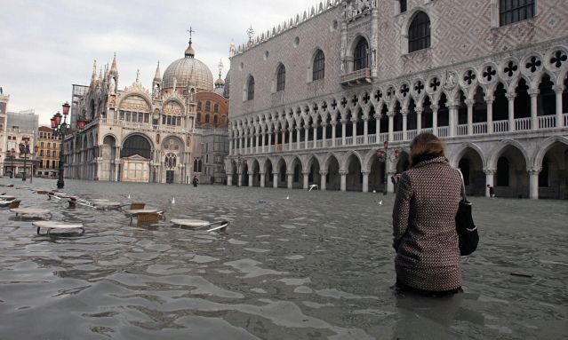 Coastal cities like Venice have seen the worst of climate change. Due to the melting of the polar ice caps, sea levels are rising at a rate of .13 inches per year. Source: telegraph.co.uk