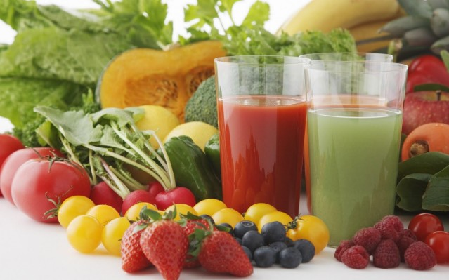 Smoothies and Vegetables
