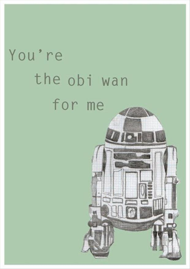 Star Wars Valentines Day Card Funny Pictures The Banner Newspaper