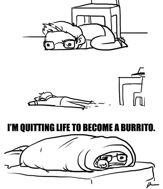 funny-cartoon-man-tired-burrito-bed