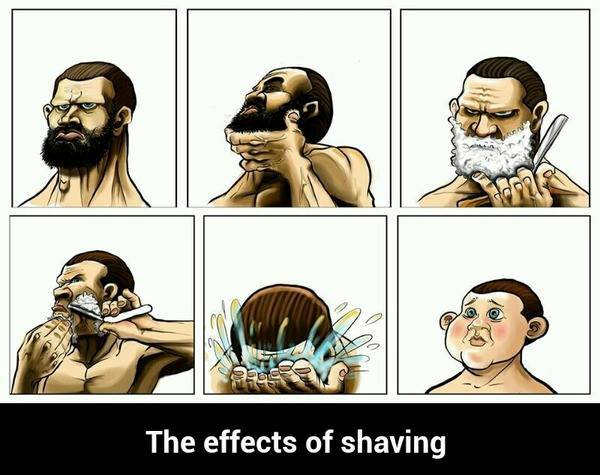 The-effects-of-shaving