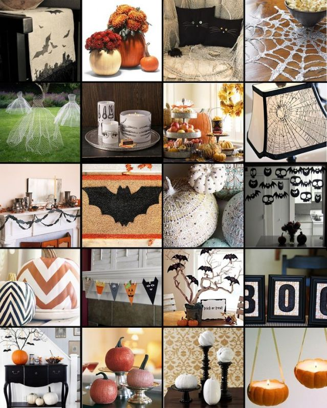 Tricks treats for a celebration to diy for the banner newspaper dcor is a must for a holiday like this there are so many cheap easy and simple halloween decorations you can do yourself to have your house party ready solutioingenieria Gallery