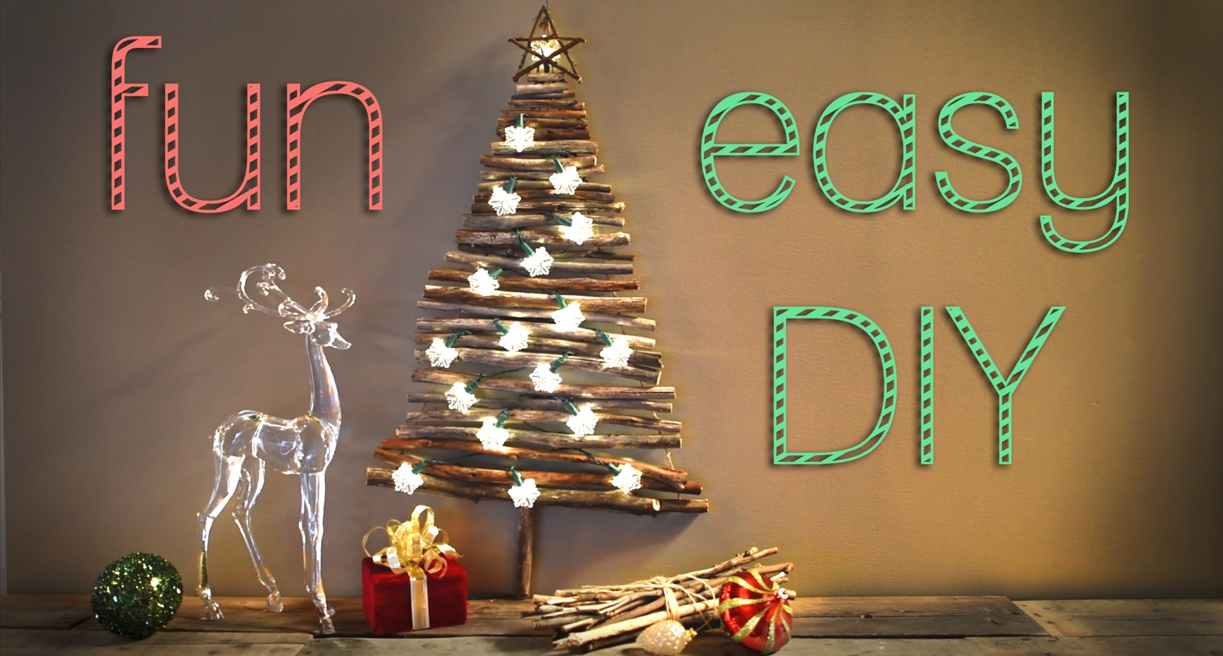 Fun Easy Christmas Decorations Diy Tree Robeson Design
