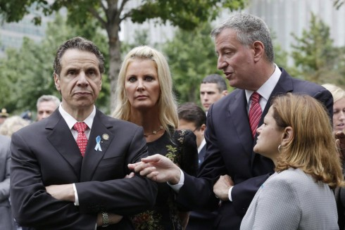 Governor Andrew Cuomo and Mayor Bill de Blasio have been openly quarreling for months