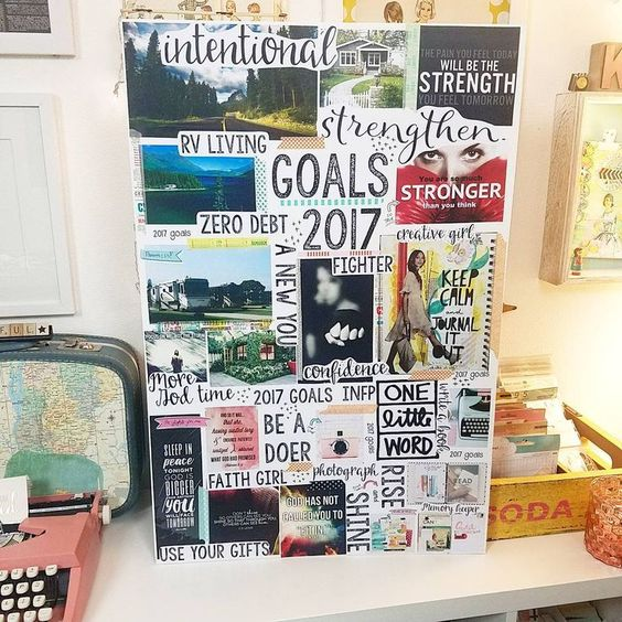 """Vision Board Party - """"Write the Vision and Make It Plain ... 