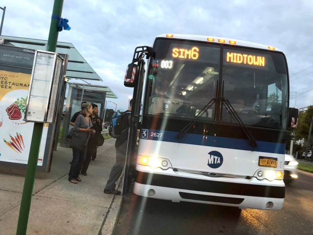 All Aboard Staten Island's New MTA Express Bus Service – The Banner