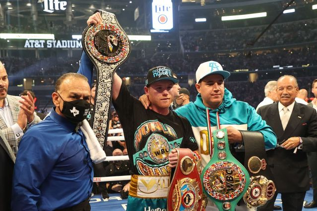 Picture One Canelo Keeps on Taking Titles